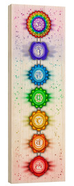 Wood  The Seven Chakras - Series V - Artwork II - Dirk Czarnota