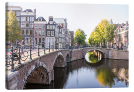 Canvas print  Amsterdam canals - George Pachantouris
