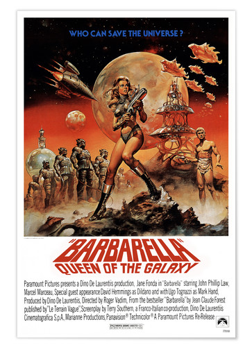 Barbarella Posters And Prints Posterlounge Co Uk