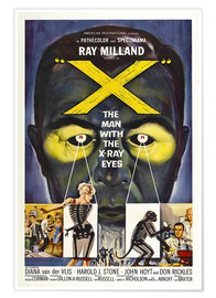 Premium poster X: The Man with the X-ray Eyes