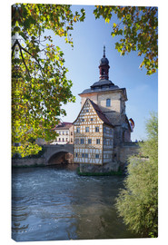 Canvas print  Old Town Hall, Bamberg - Markus Lange