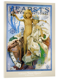 Acrylic print  Hearst's - The Snow Queen - Alfons Mucha