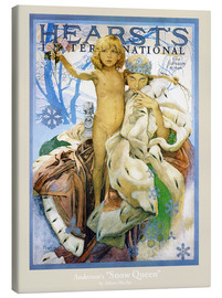 Canvas print  Hearst's - The Snow Queen - Alfons Mucha