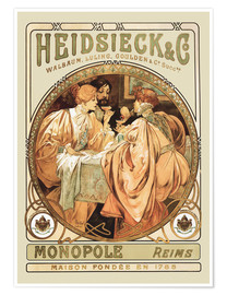 Poster Heidsieck Champagne