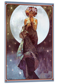 Alfons Mucha - The full moon, adaptation
