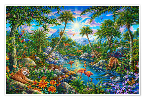 Poster Discovery Island