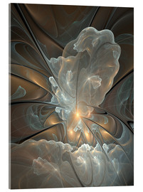 Acrylic print  Fractal Abstract - gabiw Art