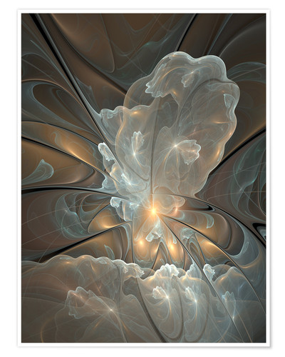 Premium poster Fractal Abstract