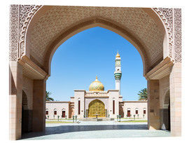 Acrylic print  Mosque in Muscat, Oman - Matteo Colombo
