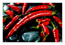 Premium poster Red hot Chili