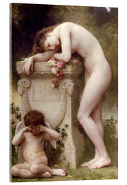 Acrylic glass  Elegy - William Adolphe Bouguereau