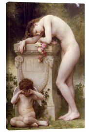 Canvas print  Elegy - William Adolphe Bouguereau