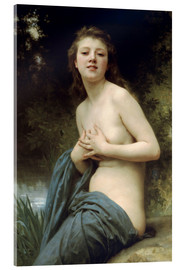 Acrylic print  Springbreeze - William Adolphe Bouguereau