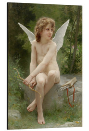Aluminium print  Amor - William Adolphe Bouguereau