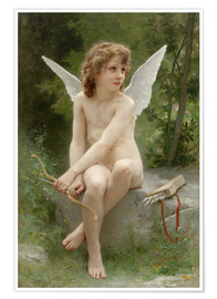 Premium poster  Amor - William Adolphe Bouguereau