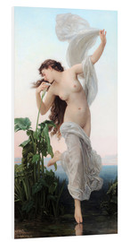 Foam board print  Aurora - William Adolphe Bouguereau