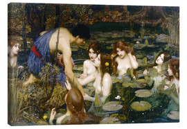 Canvas  Nymphs - John William Waterhouse