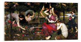 Acrylic print  Flora - John William Waterhouse