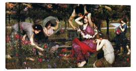 Canvas print  Flora - John William Waterhouse