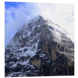 Foam board print  Eiger North Face - Gerhard Albicker