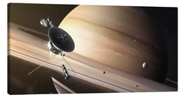 Canvas print  Saturn Flyby - Tobias Roetsch