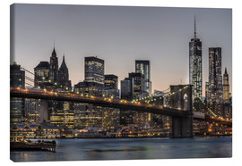 Canvas print  Brooklyn Bridge /Manhattan - Marcus Sielaff