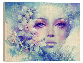 Wood print  December - Anna Dittmann
