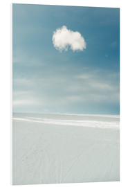 Foam board print  Little cloud - Hannes Cmarits