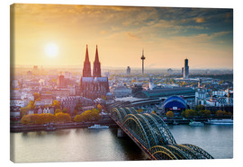 Canvas print  Cologne - euregiophoto