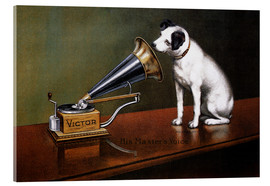 François Barraud - His Master's Voice Ad, The Theatre