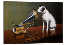 Alu-Dibond  His Master's Voice Ad, The Theatre - François Barraud