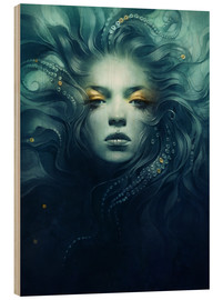 Wood print  Ink - Anna Dittmann