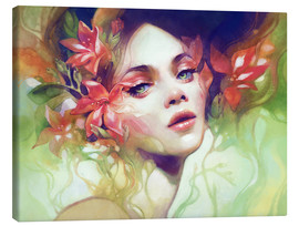 Canvas print  August - Anna Dittmann