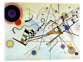 Acrylic glass  Composition no. 8  - Wassily Kandinsky