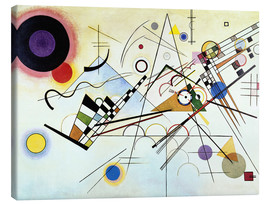 Canvas  Composition no. 8 - Wassily Kandinsky