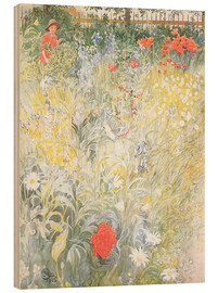 Wood  Flowers - Carl Larsson