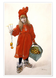 Poster  Brita as Idu - Carl Larsson