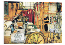 Forex  In the workshop - Carl Larsson