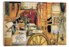 Carl Larsson - In the workshop