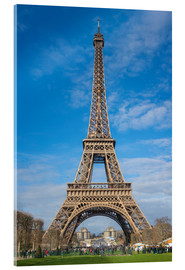 Acrylic glass  The Eiffel Tower of  Paris - Fine Art Images