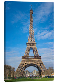 Canvas print  The Eiffel Tower, Paris - Fine Art Images