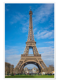 Poster  The Eiffel Tower of  Paris - Fine Art Images