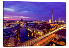 Canvas print  Berlin Skyline - Andy Donath