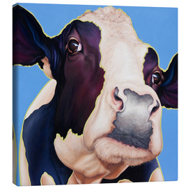 Canvas print  cow Alia - Renate Berghaus
