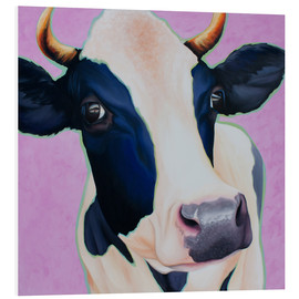 Foam board print  cow Josefine - Renate Berghaus