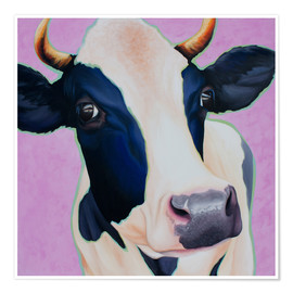 Poster  cow Josefine - Renate Berghaus