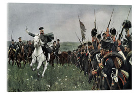 Carl Röchling - Bluecher at the battle of Katzbach 1813