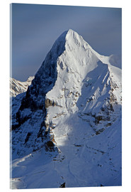 Acrylic print  Eiger North Face - Gerhard Albicker