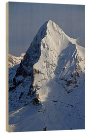 Wood  Eiger North Face - Gerhard Albicker