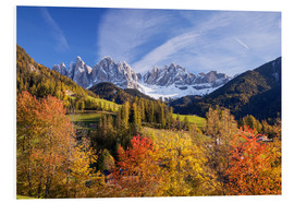 Forex  Autumnal Funes valley, South Tirol - Matteo Colombo